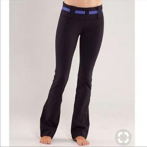 Lululemon belt it out yoga pants